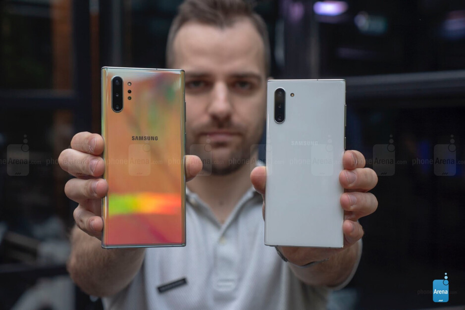 Those extra sensors on the back of the Note 10+ are not the only thing separating it from the Note 10 - Who exactly is the Galaxy Note 10 for?