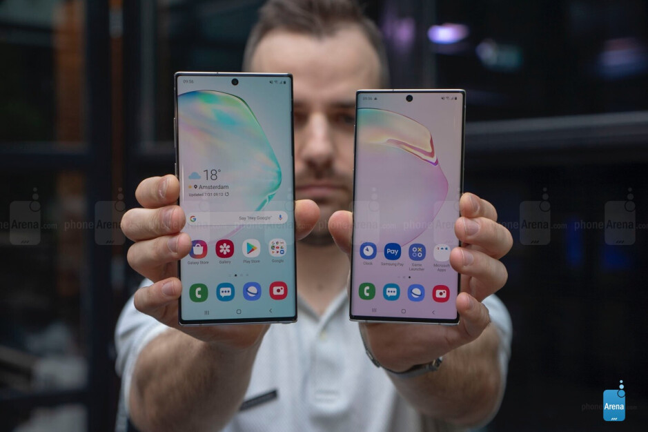 The Note 10 may look small next to the Note 10+, but it's still pretty large - Who exactly is the Galaxy Note 10 for?