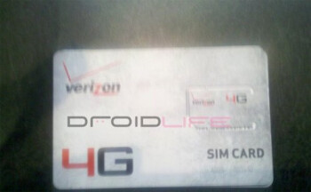 4G SIM cards arrive on Verizon