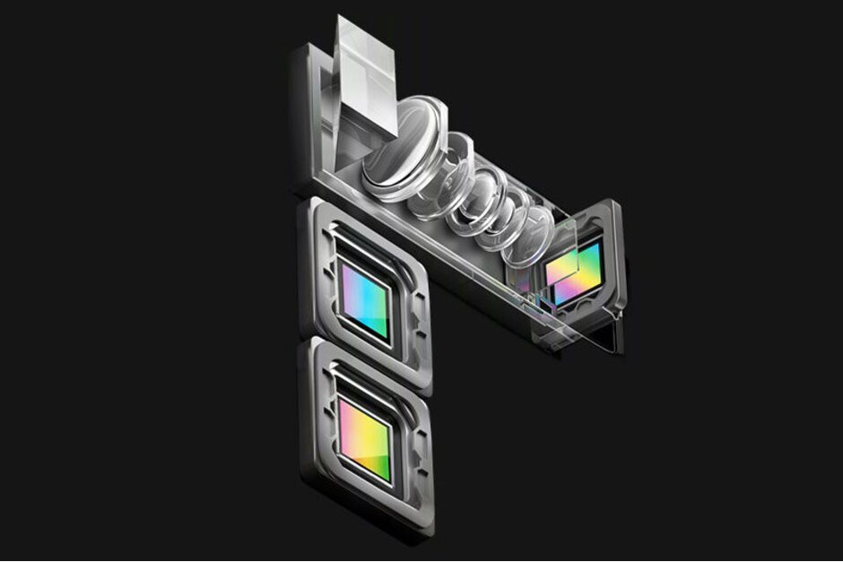 The 10x optical zoom technology used inside the Oppo Reno 10X Zoom - Apple accused of stealing technology used on its dual camera iPhones