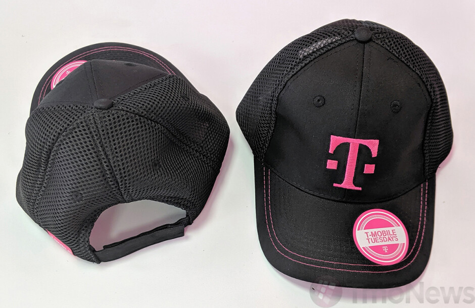 This T-Mobile baseball cap is expected to be an upcoming T-Mobile Tuesdays giveaway - Last chance to win one of ten Samsung Galaxy Note 10 phones being given away by T-Mobile