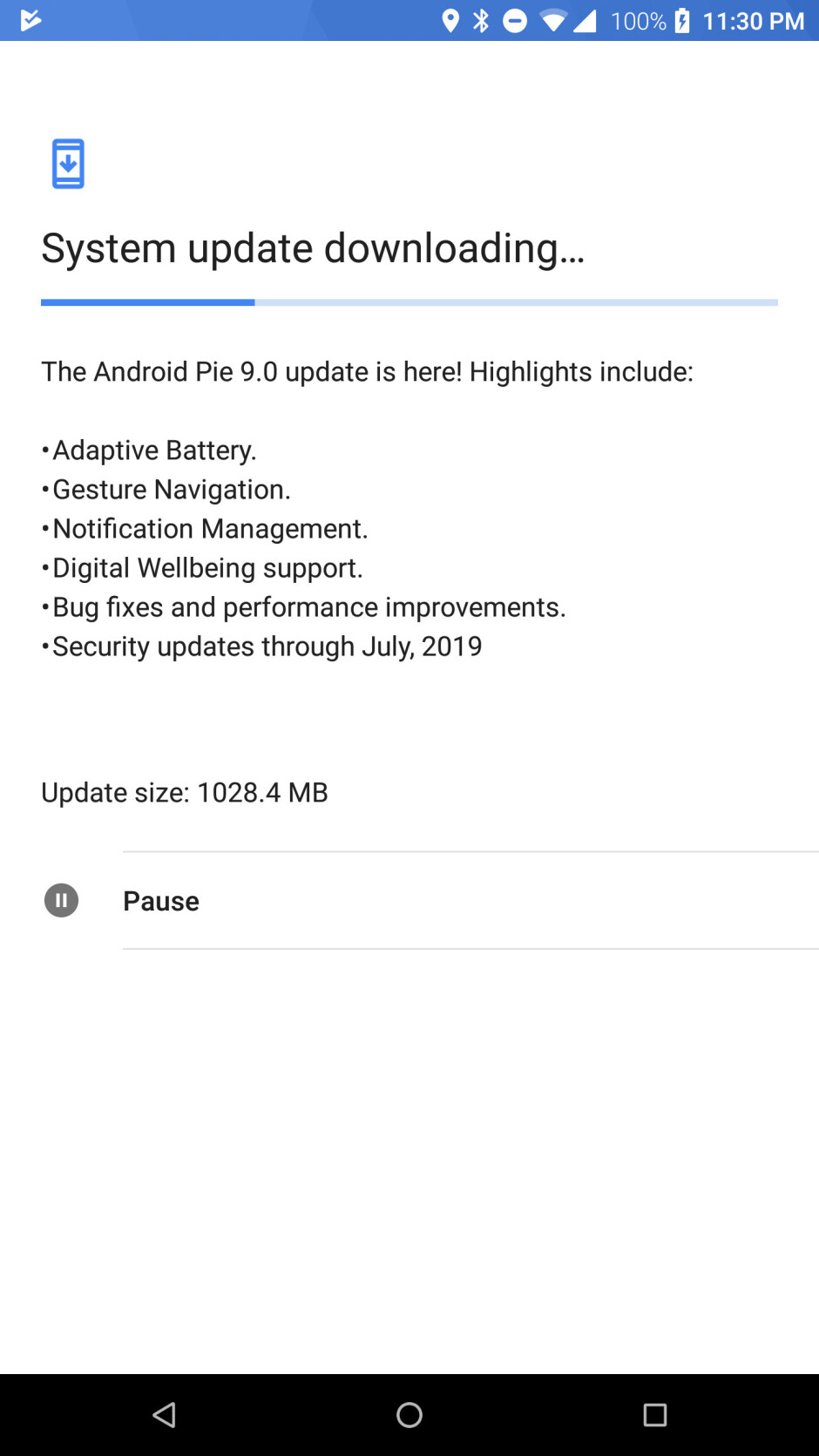 Razer Phone starts receiving Android 9.0 Pie update