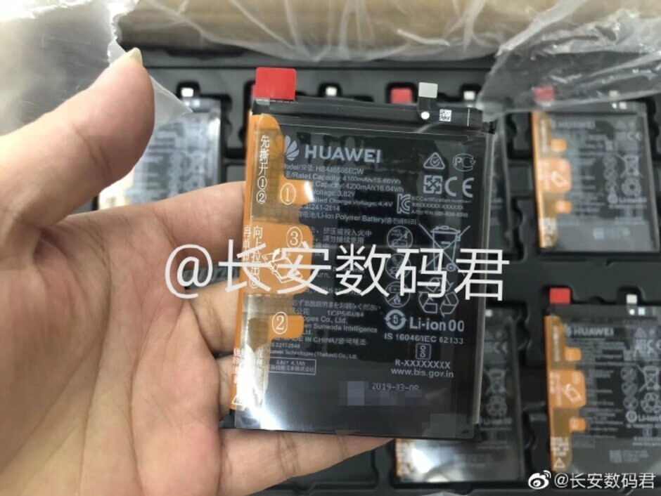 4200mAh battery reportedly earmarked for the Huawei Mate 30 - Battery capacities leaked for the Huawei Mate 30 and Mate 30 Pro