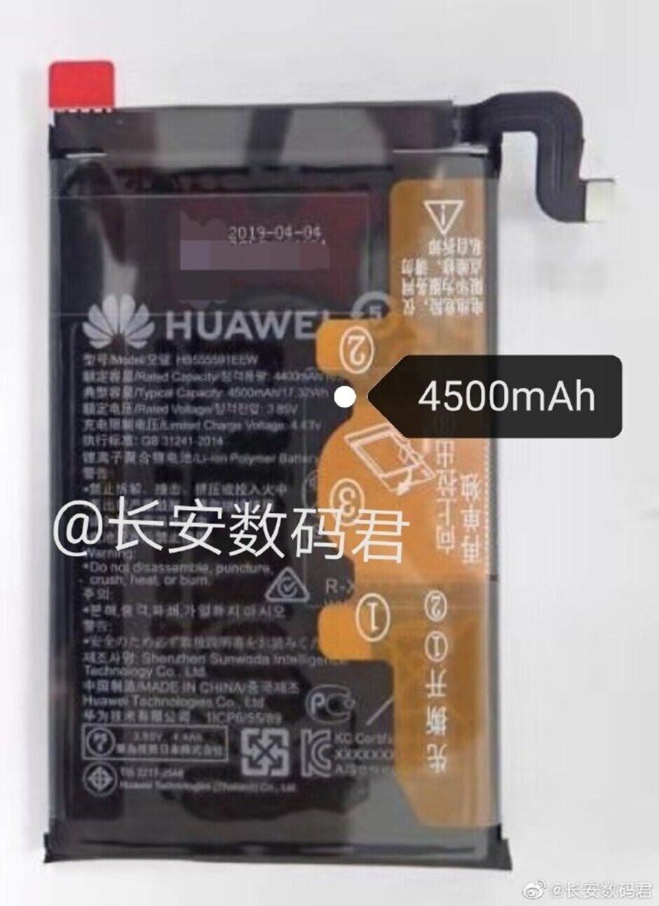 The Huawei Mate 30 Pro will allegedly use this 4500mAh battery - Battery capacities leaked for the Huawei Mate 30 and Mate 30 Pro