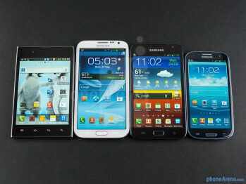 The Note II (second, left to right) was an even bigger phone and more powerful - Samsung Galaxy Note evolution: Here's how it has changed over the years