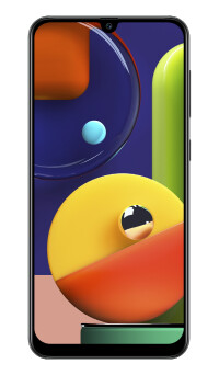 Galaxy-A50sBlackFront