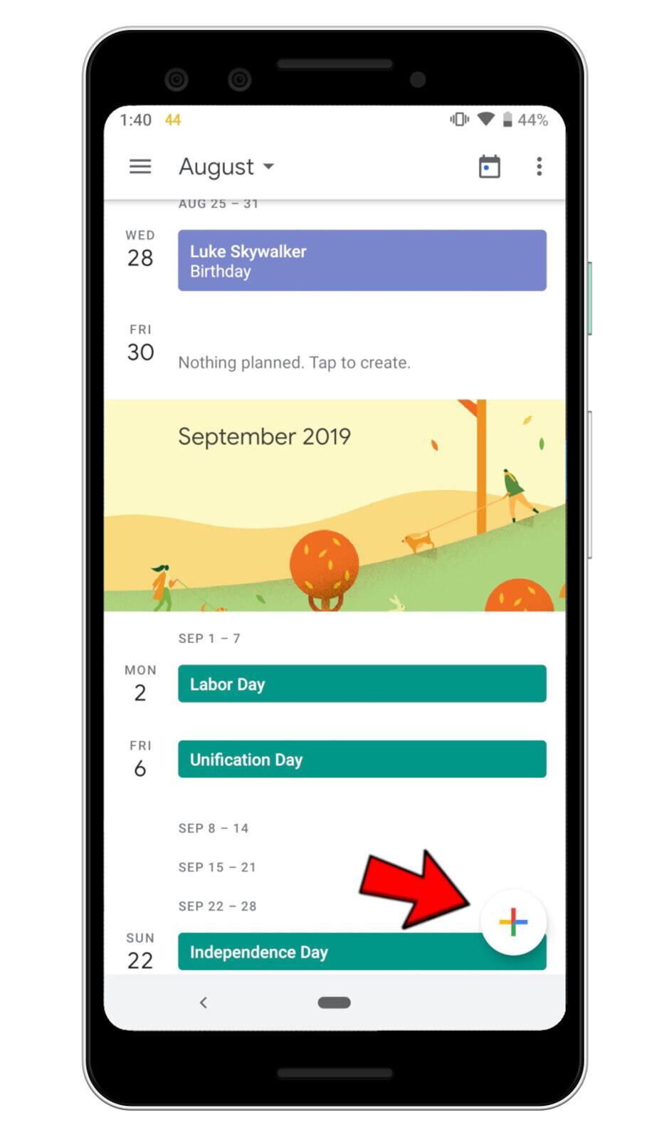 How to add a birthday to Google Calendar