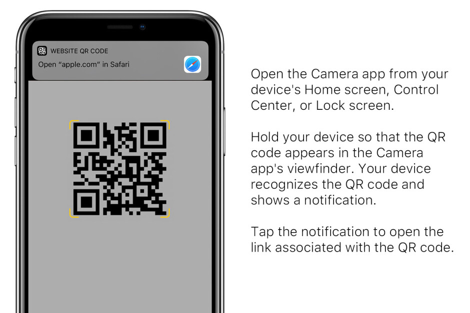 Scanning QR codes on the iPhone is easy with the stock camera app - How to scan QR codes and barcodes on iPhone and Android