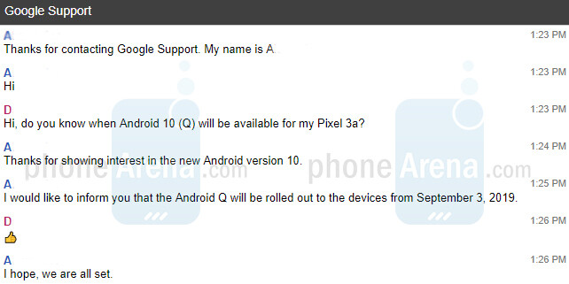 Android 10 release date confirmed 1