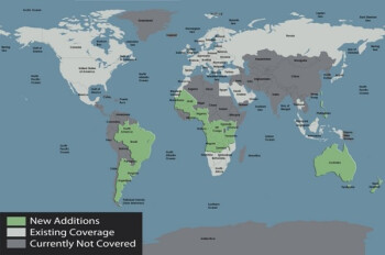 BlackBerry Maps updated with 34 more countries, a new rendering engine