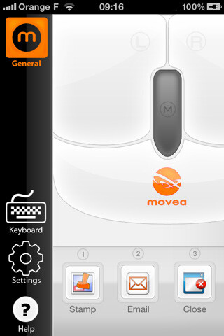 Movea app makes your iPhone 4 behave like an Air Mouse for $1.99