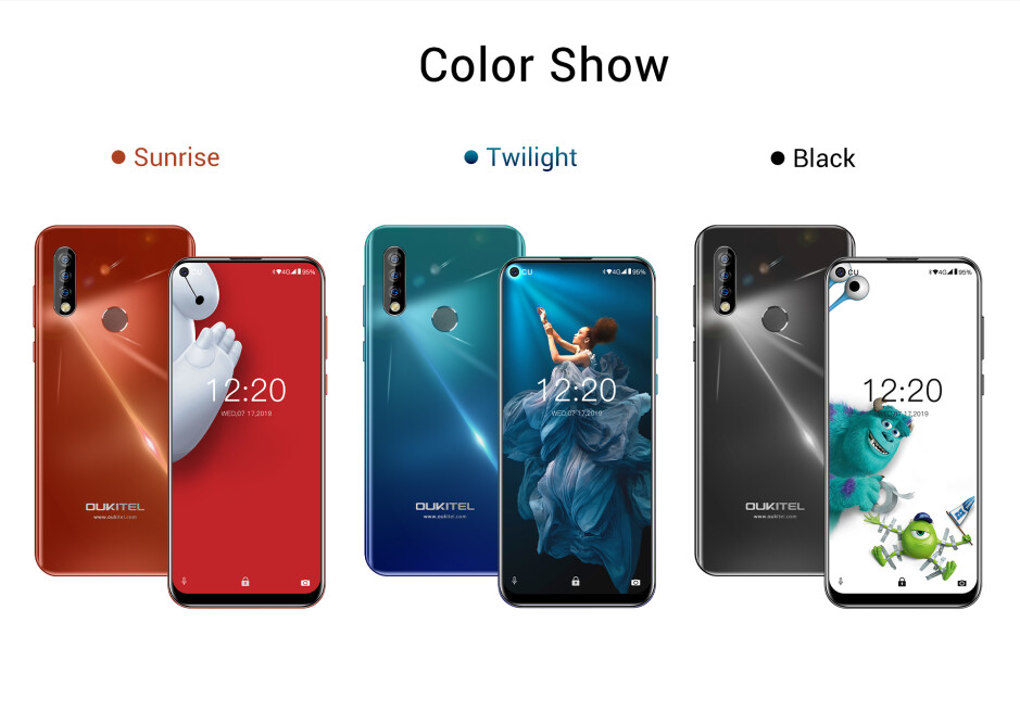 The Oukitel C17 Pro: triple camera, huge battery, insanely low price