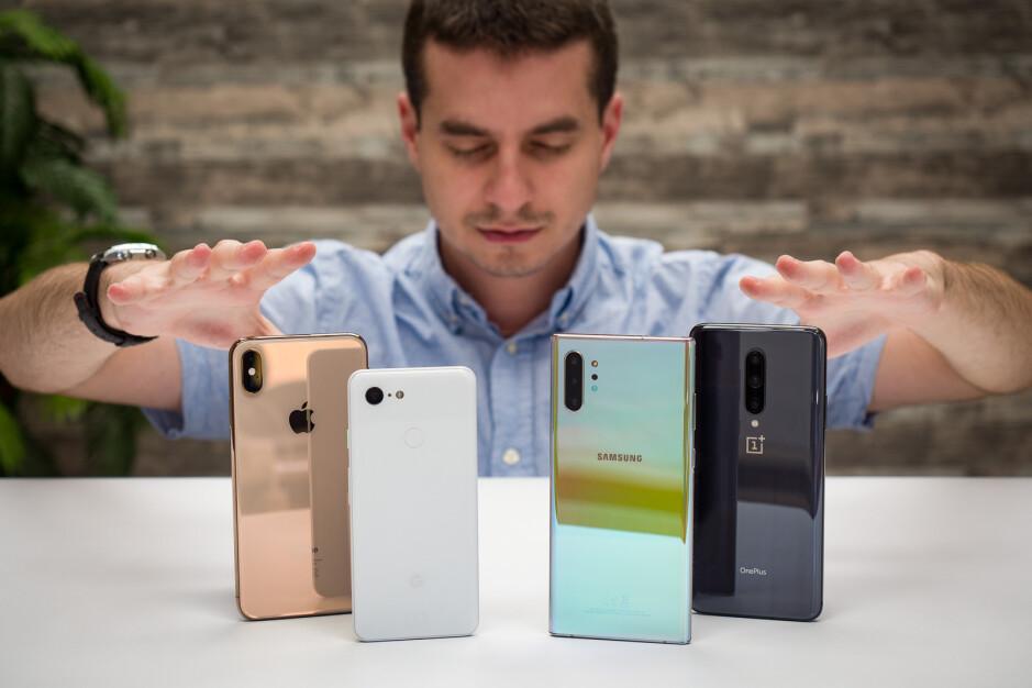 Blind camera comparison: Galaxy Note 10+ vs Pixel 3, iPhone XS Max, OnePlus 7 Pro