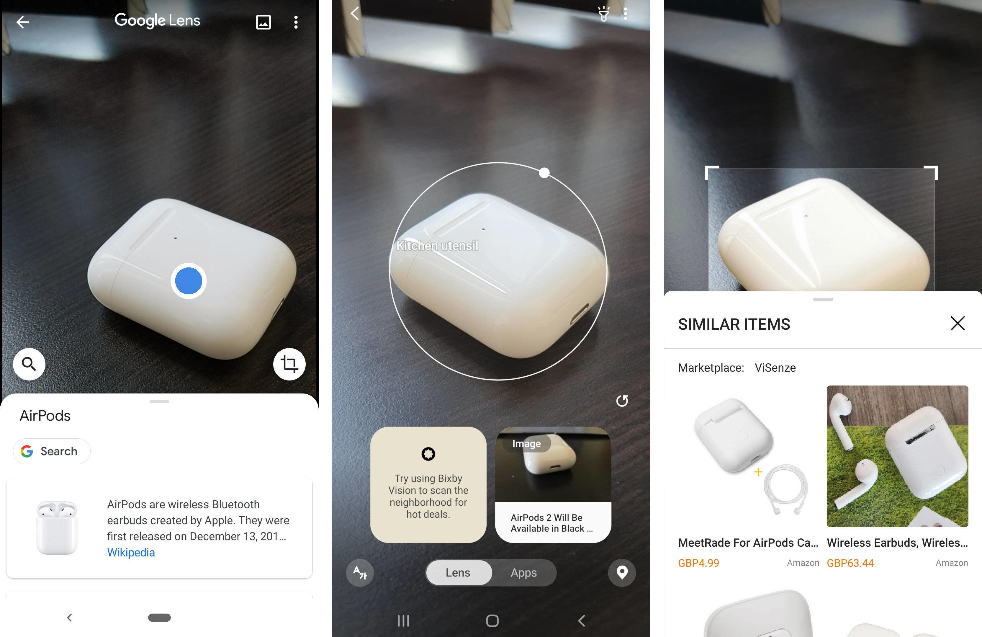 Artificial intelligence showdown: Google Lens vs Bixby
