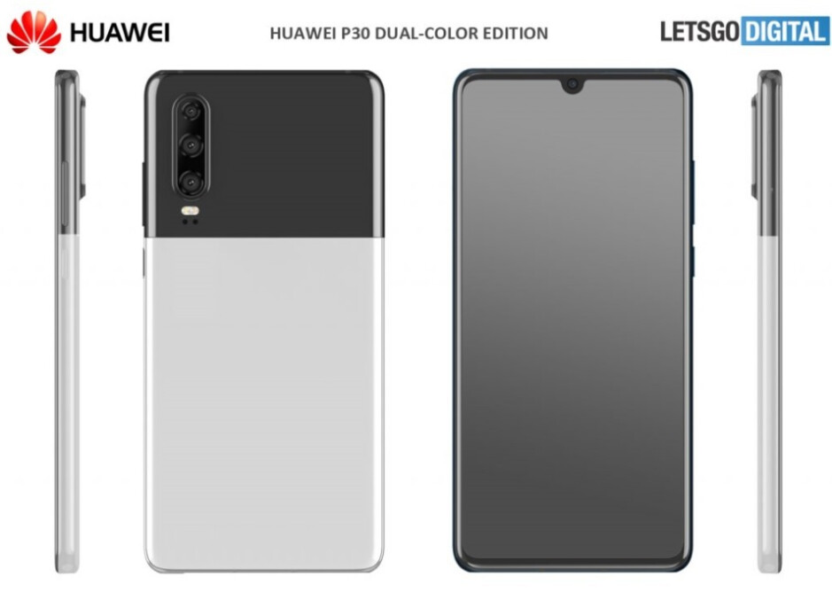 Wait...what? Is this the Pixel 2 XL Panda? No, it's another new color option for the Huawei P30 - Huawei P30 could get two new color options next week