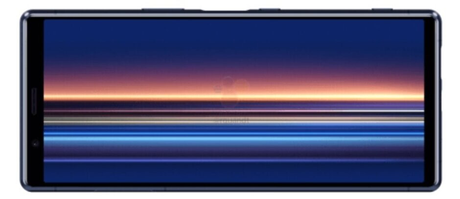 Render of the Sony Xperia 2 - New renders of the Sony Xperia 2 leak