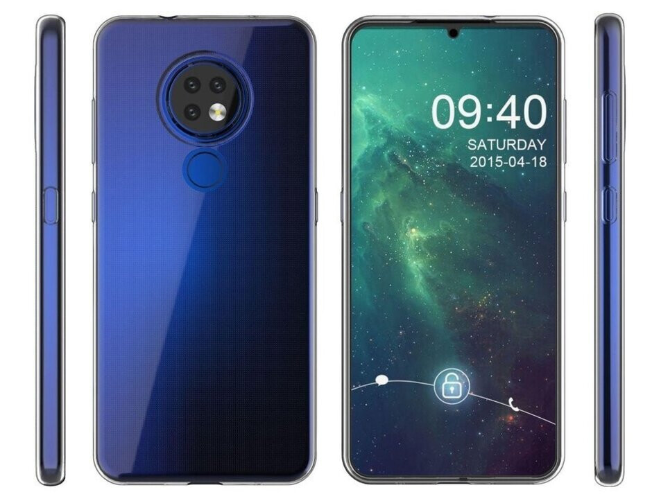 Renders of the Nokia 7.2 from a case manufacturer, released by Slashleaks - All the exciting new smartphones coming out in September 2019