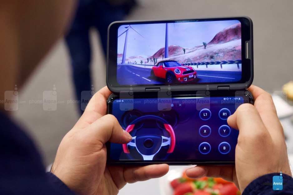 The second screen can be used as a gamepad for a more immersive experience - I'm excited about LG's next flagship and I don't really know why