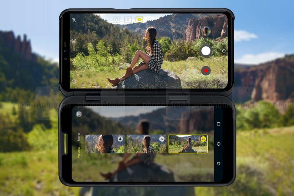 This feature is called Triple Preview and it lets you easily switch between photos taken with normal, wide, and telephoto lenses - I'm excited about LG's next flagship and I don't really know why