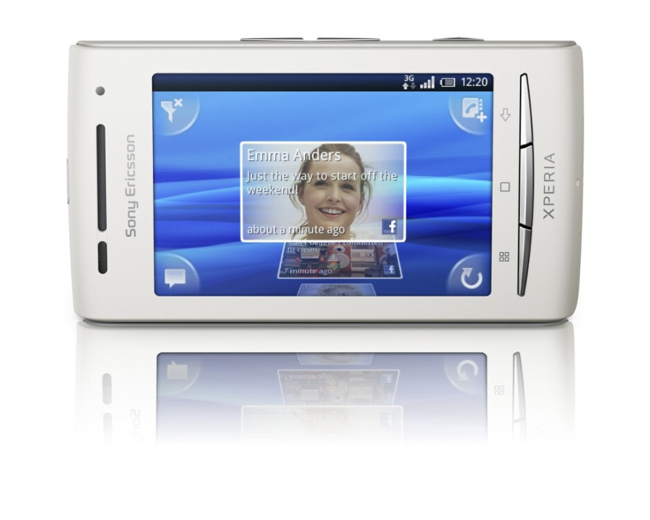 The Sony Ericsson Xperia X8 has started to receive upgrades for Android 2.1 - Android 2.1 update begins for the Sony Ericsson Xperia X8