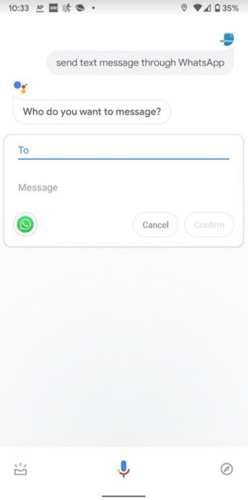 مساعد جوجل وإجراء مكالمات واتساب 1