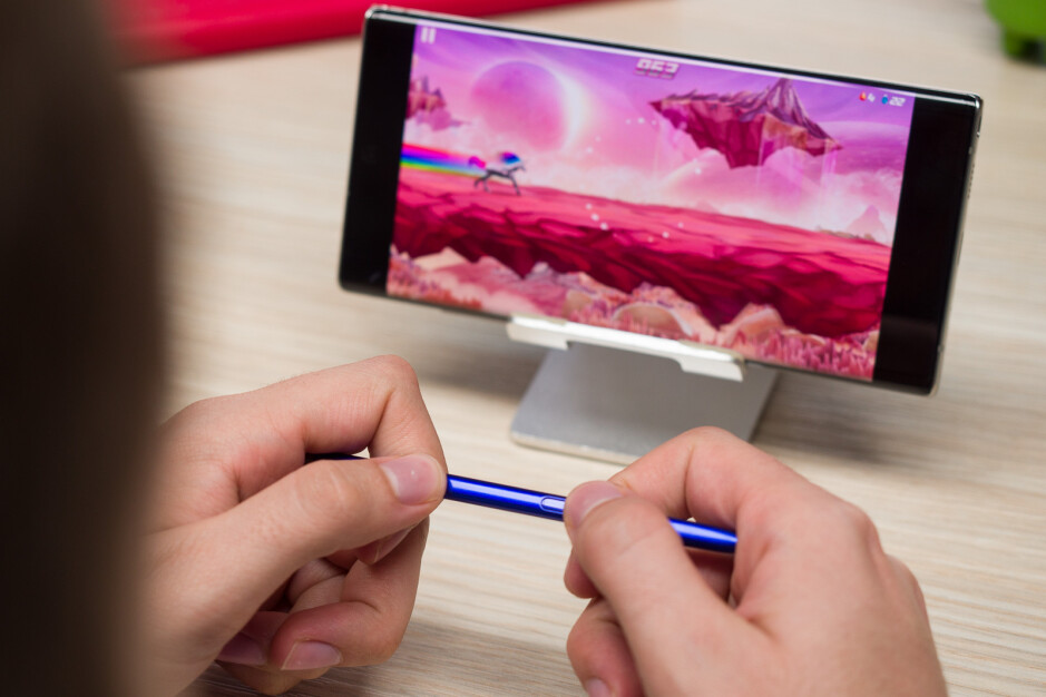 There are plenty of games that only use require two buttons to play - Where can Samsung go next with the S Pen?