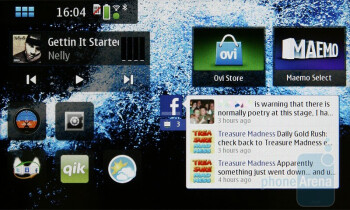 Pictures of Maemo on N900