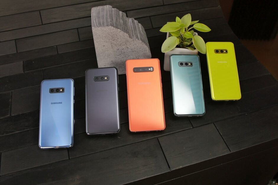 Some of the Galaxy S10 series colors - The Samsung Galaxy S11 could arrive in these colors