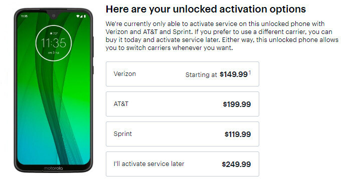Best Buy's newest Motorola Moto G7 and G7 Power deals are