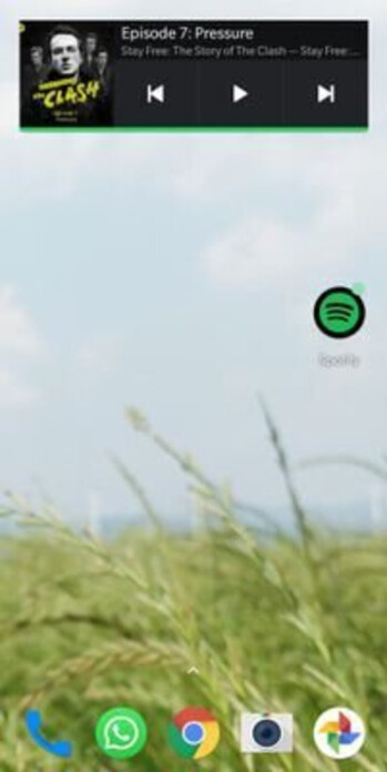 Spotify brings back the home screen widget for Android