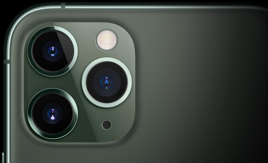 The triple-camera setip of the Apple iPhone 11 Pro - Smartphone photography battle moves from cameras to chips