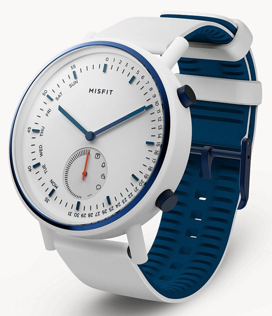 Ronin Command - Misfit launches new Ronin hybrid smartwatch duo in white