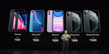 Notice how the word ''From'' is in a darker color - The 64GB iPhone 11s are a joke Apple keeps repeating