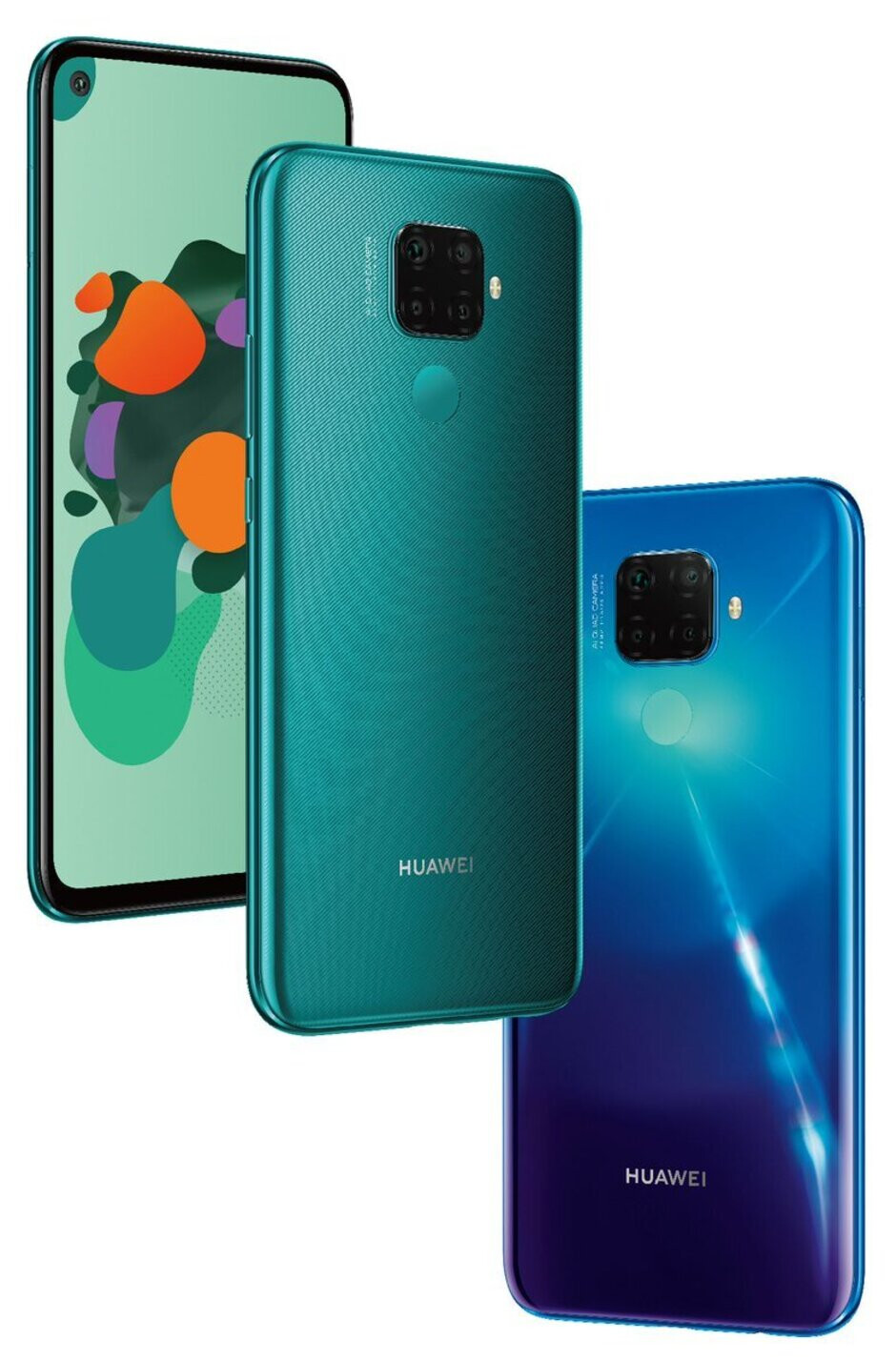 Leaked Huawei Mate 30 series promo images reveal four models