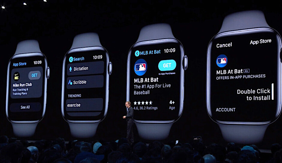 Apple's watchOS 6 runs independent apps and gives the Apple Watch its own App Store - Apple pushes out watchOS 6 for the Series 3 and Series 4 Apple Watch