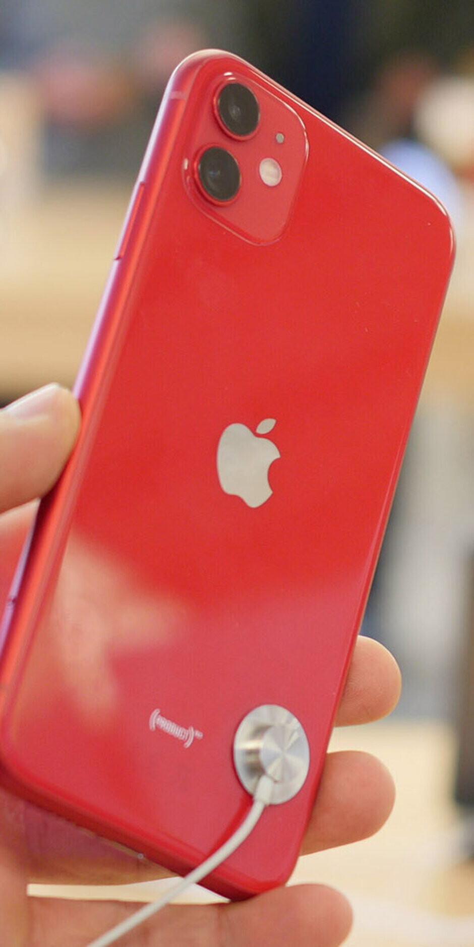 iPhone 11 All New Colors Closer Look green, purple, red