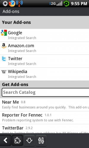 Android Browser Race
