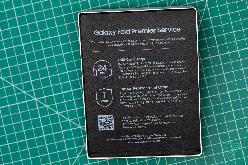 Samsung gives out instructions to Galaxy Fold users - Samsung to give Galaxy Fold owners a one-time break on a screen replacement