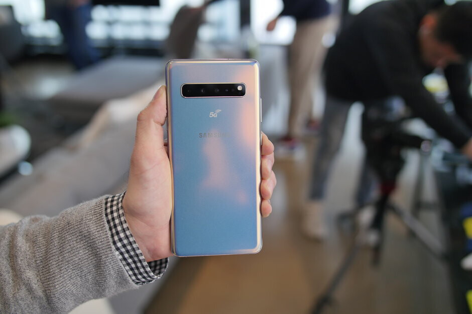 The Samsung Galaxy S10 5G has four cameras - The Galaxy S11's fingerprint scanner might crush the Galaxy S10's