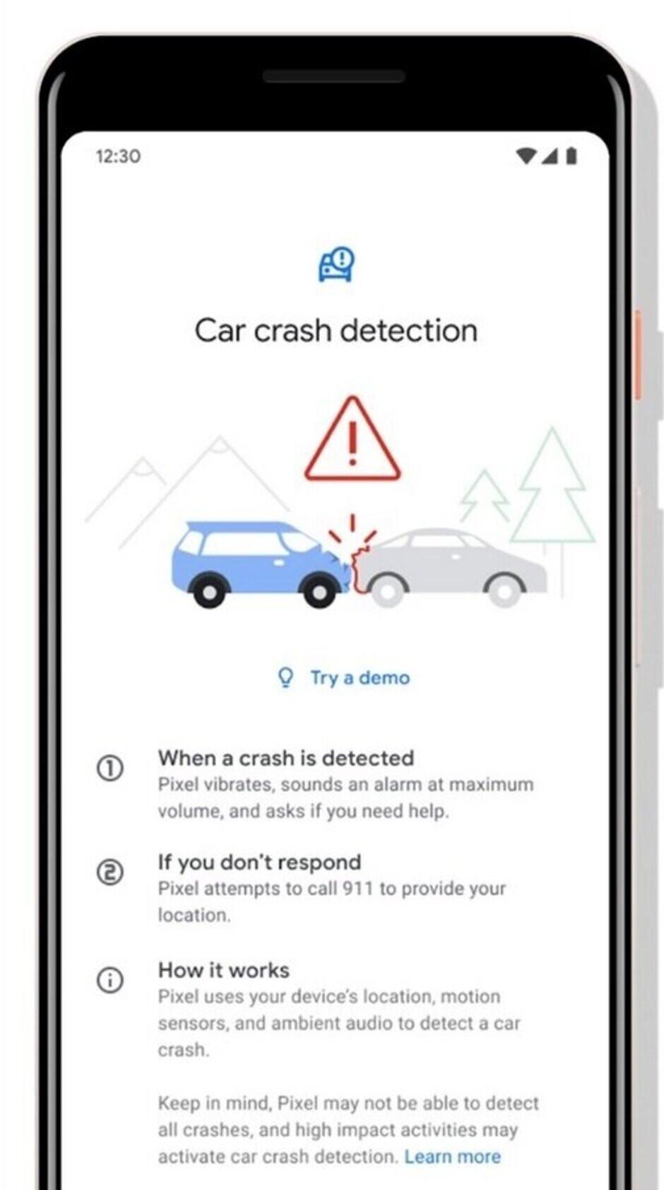 Car crash detection is coming to the Pixels - Google accidentally leaks car crash detection for Pixel handsets