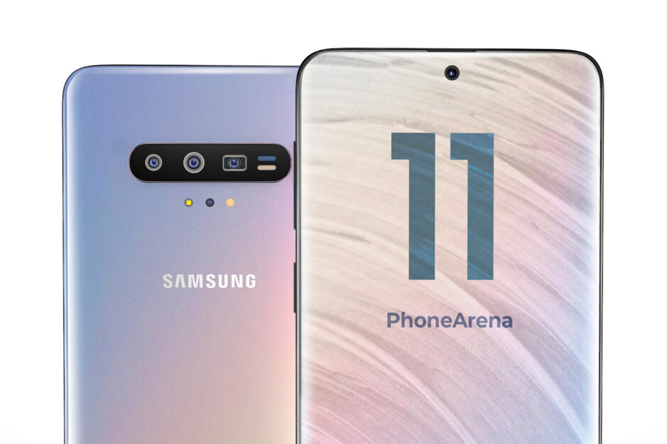 This is what the Galaxy S11 may look like