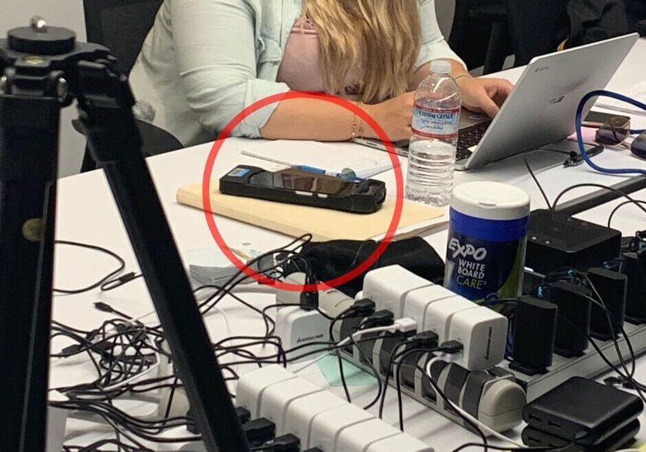 Another look at one of the devices used to collect images - Google's temps told to find homeless and people with darker skin for Face unlock data