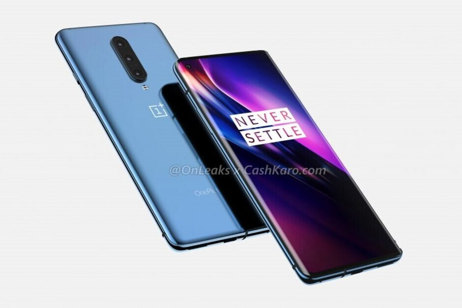 Images of OnePlus 8 leaked, reveals triple cameras and punch hole display
