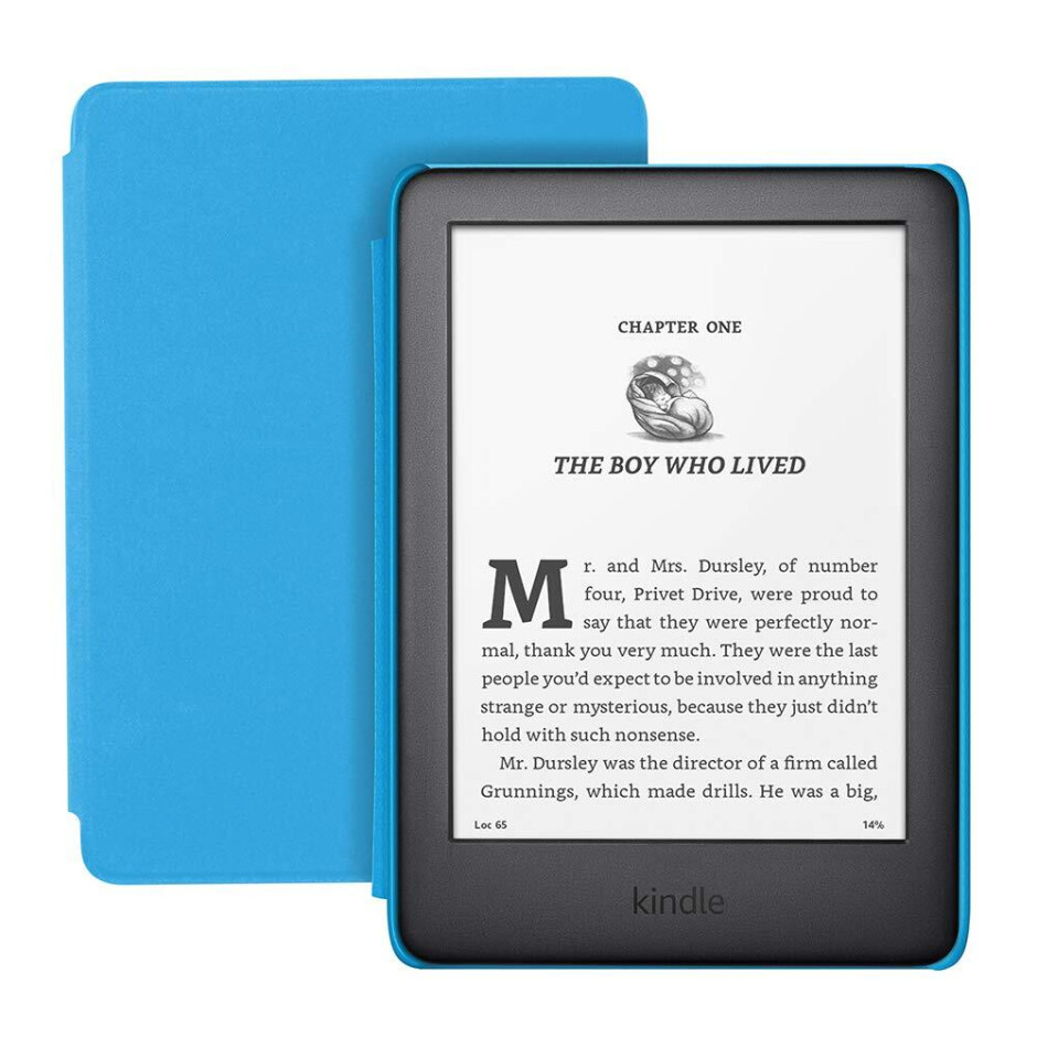 Amazon launches Kindle Kids Edition, an e-reader bundle for kids