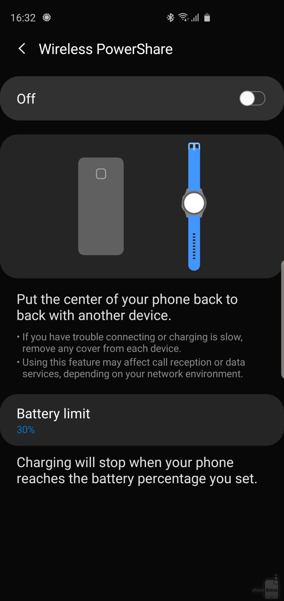 Wireless Powershare in One UI 2.0 - Android 10 with One UI 2.0 on the Samsung Galaxy S10+: Hands-on with all the new features