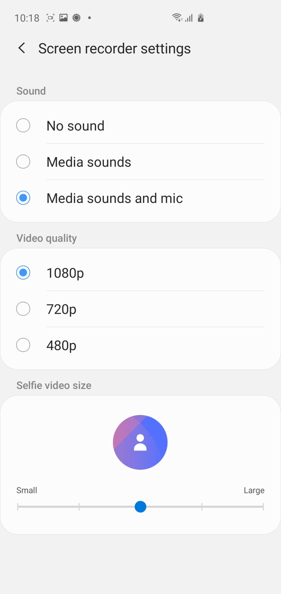 Screen recording on the Galaxy S10+ with Android 10 & One UI 2.0 - Android 10 with One UI 2.0 on the Samsung Galaxy S10+: Hands-on with all the new features