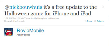 The tweet from Rovio that kept iOS users out of their wallets