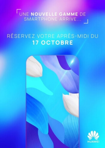 Huawei teases the introduction of an all-screen phone in France on October 17th - Teaser reveals that Huawei will unveil an all-screen phone next week