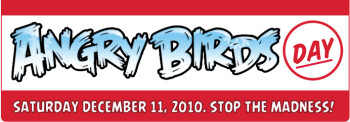 Don'tr forget to celebrate the first anniversary of Angry Birds
