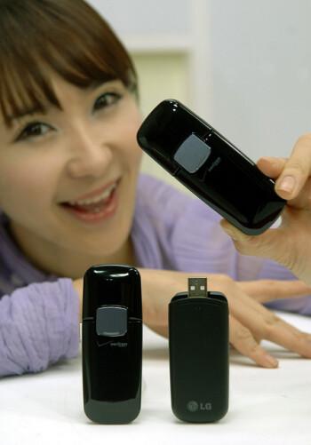 LG VL600 Verizon LTE dongle